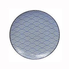 Тарелка Tokyo Design Studio Nippon Blue 8660
