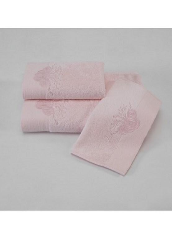 Наборы салфеток MELIS МЕЛИС  салфетки  махровые 3 предмета 30х50 Soft Cotton (Турция) MELIS_роз1.jpg