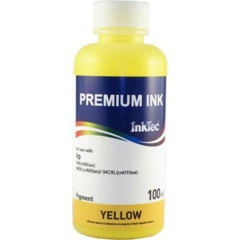 Чернила пигментные Inktec H8940 желтые/ yellow 100ml (HP 940XL/942XL) (Чернила для картриджей HP 940XL/942XL)