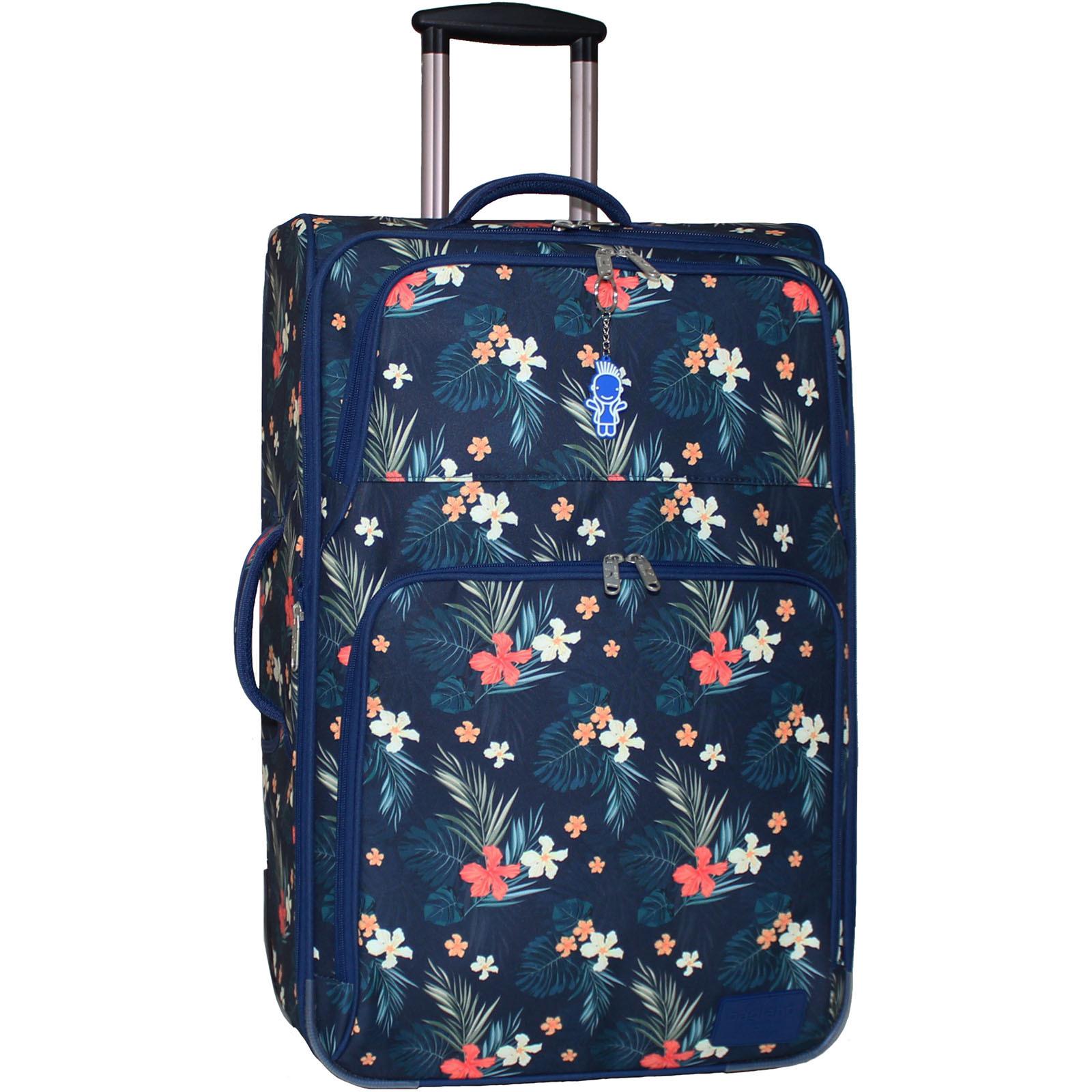 Дорожные чемоданы Чемодан Bagland Леон большой дизайн 70 л. сублимация (цветы) (0037666274) IMG_6885.JPG