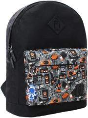 Рюкзак Bagland Молодежный W/R 17 л. чорний 68 (00533662)