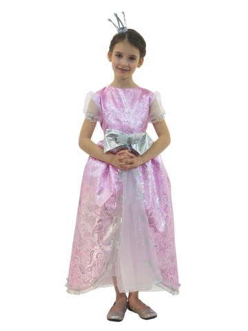 Костюм Принцесса Люкс розовая 2