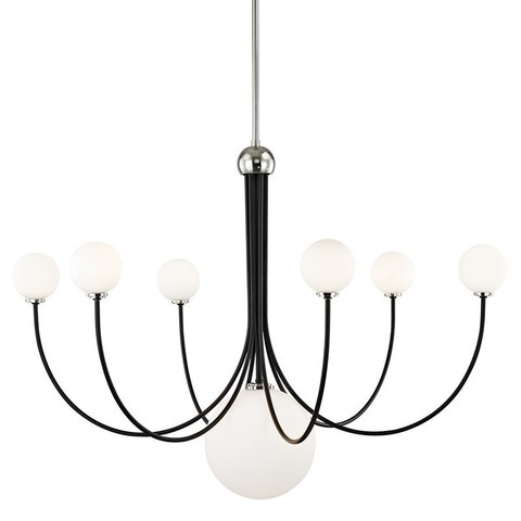 replica light   Coco d 101 см by Hudson Valley Lighting ( black )