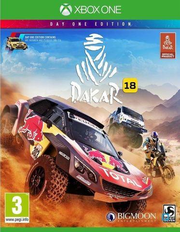 Xbox One Dakar 18 (цифровой ключ, английская версия)