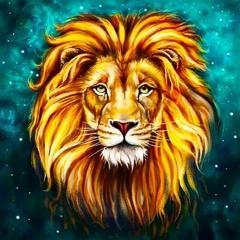 Звездный лев- алмазная картина