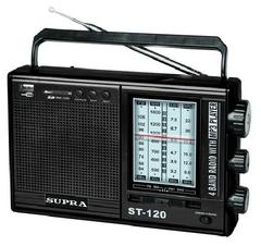 Радио SUPRA ST-120 black