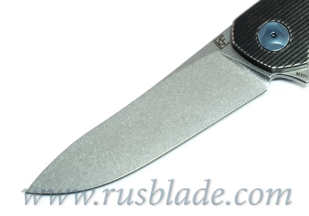 CKF S.S.E. BLACK Knife M390 Limited