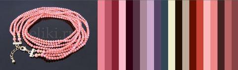 с чем носить розовый коралл - цветовая подборка вариантов одежды