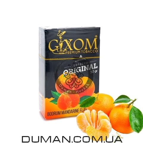 Табак Gixom Bodrum Mandarine (Гиксом Мандарин)
