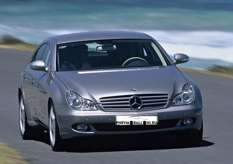 Mercedes-Benz CLS C219 2004 - 2011 Ремонт Передней Пневмоподвески