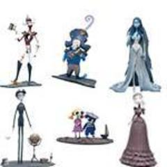 Corpse Bride Action Figure Series 1 Set