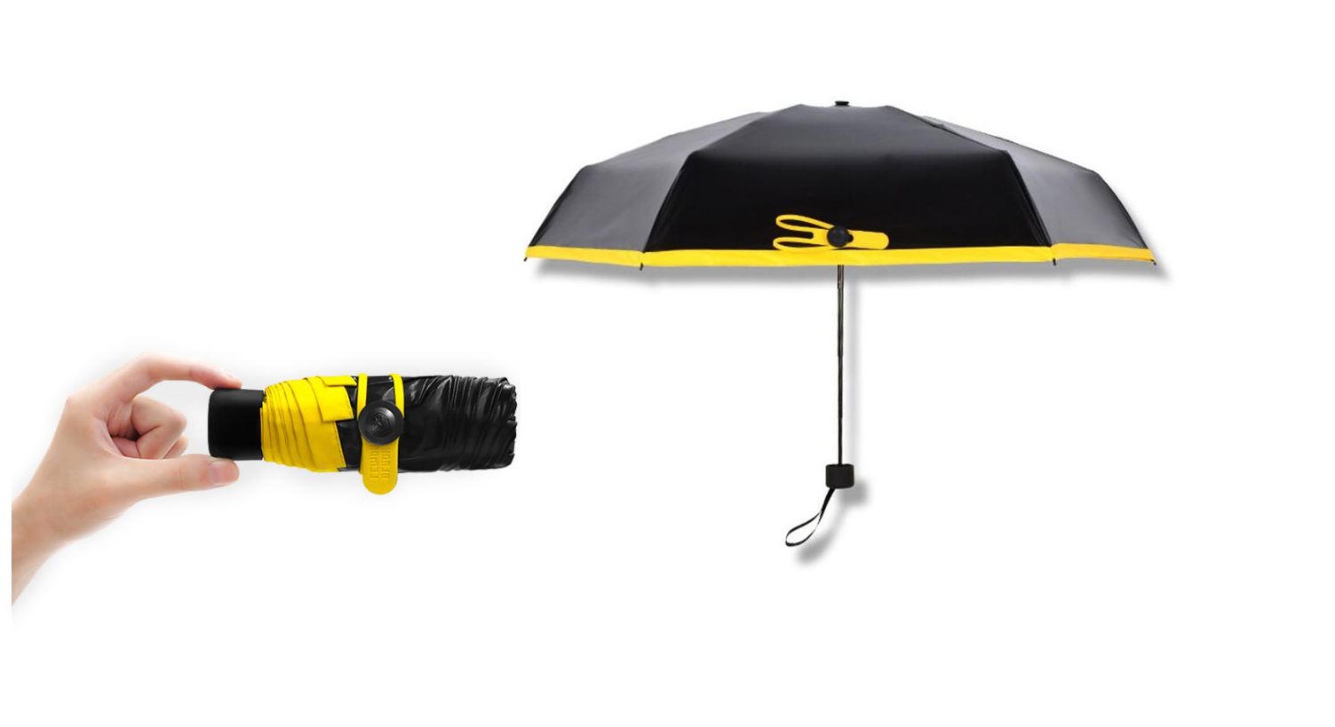 Универсальный карманный зонтик Mini Pocket Umbrella в Красноярске