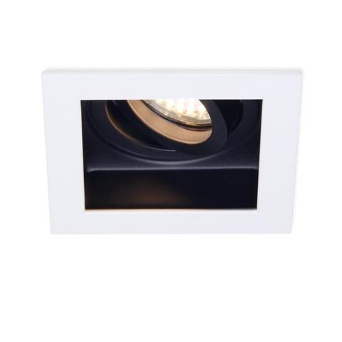 Встраиваемый поворотный светильник Ambrella TN181 WH/BK белый/черный GU5.3
