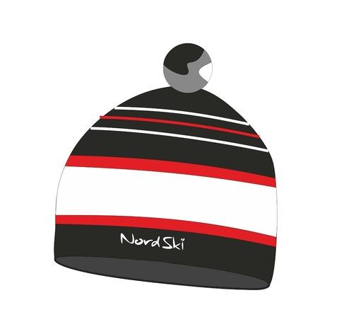 Лыжная шапка Nordski Bright black