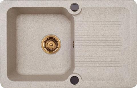 Мойка для кухни Kuppersberg ANCONA 1B1D SAND