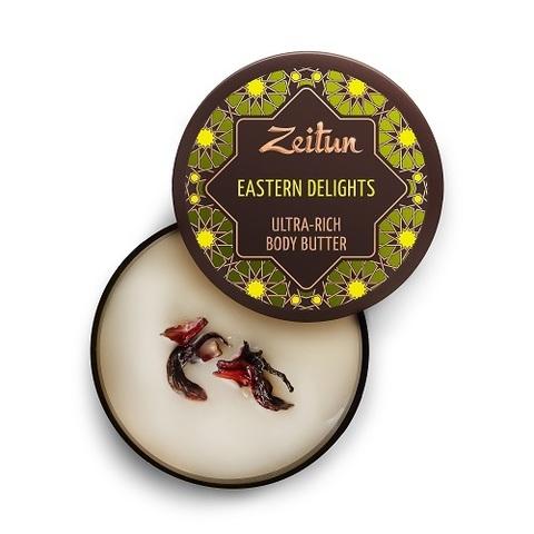 Крем-масло для тела интенсивное питание Zeitun Восточные сладости 200мл