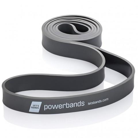Эспандер-лента POWERBANDS MAX (сверхтяжелое сопротивление, черный)