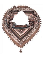 FC822-37-4 платок, коричневый