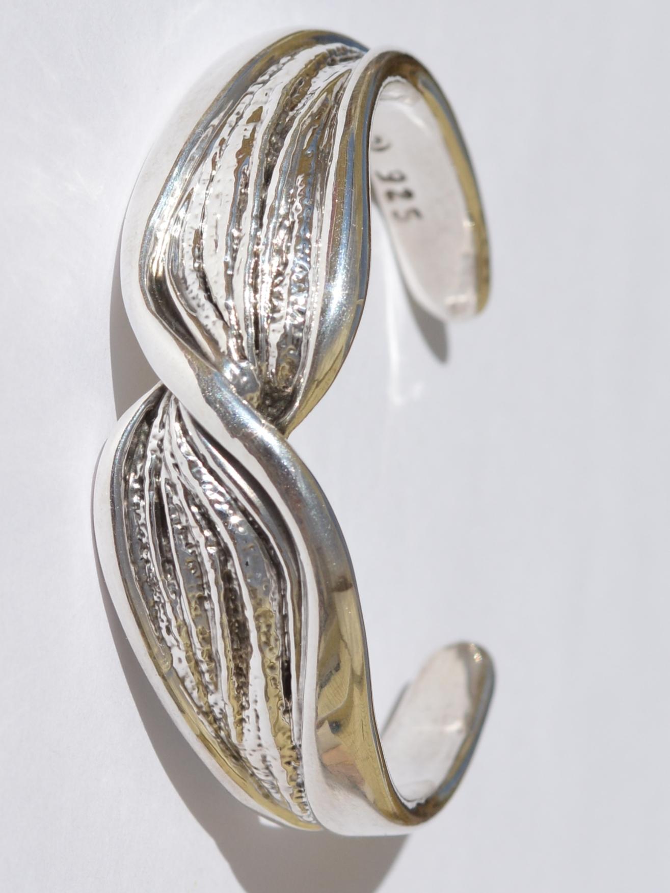Чалма (браслет из серебра)