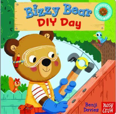 Kitab Bizzy Bear: DIY Day | Nosy Crow