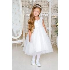 Sweet Berry Белое нарядное платье