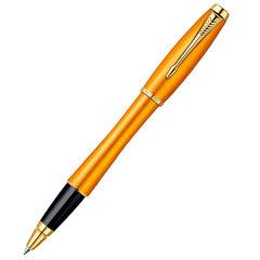 Ручка-роллер PARKER URBAN Premium Mandarin, цвет: Yellow GT, цвет стержня: черный, 1892653