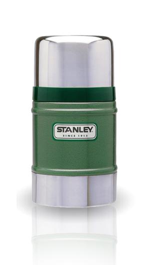 Термос для еды Stanley Classic Vacuum Food (0,5 литра), темно-зеленый