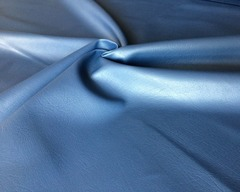 Искусственная кожа синяя