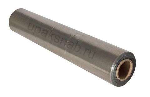 Стрейч-плёнка серая, 1,0 кг./500 мм. (из вторичного сырья)