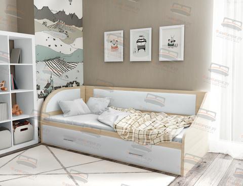 Кровать Sontelle Кэлми с ящиками для белья