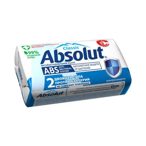 Мыло туалетное антибактериальное Absolut Classic ультразащита, 90 г