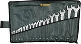 Набор KRAFTOOL EXPERT Ключи гаечные комбинированные, Cr-V сталь, хромированные, 6-32мм, 18шт