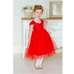 Sweet Berry Красное нарядное платье