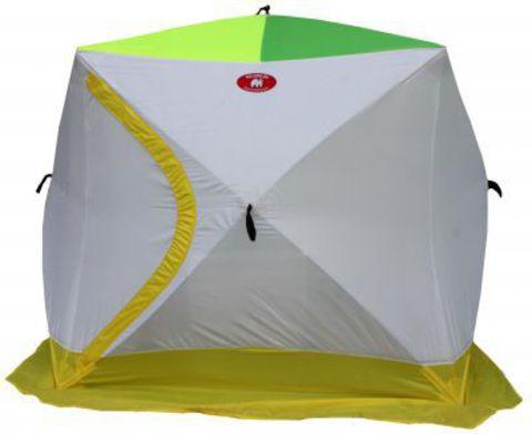 Палатка для зимней рыбалки Медведь Куб - 3 190Х220 (3-Х СЛОЙНАЯ)