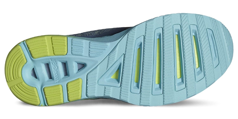 Женские спортивные беговые кроссовки Asics FuzeX Lyte (T670N 62011) серые фото