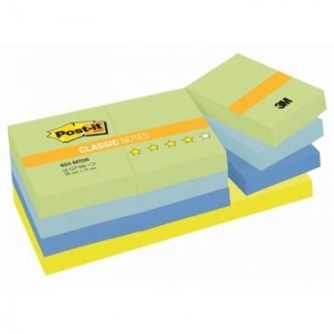 Блок-кубик Post-it 653-МТ 38х51 Хол.неон.радуга,12бл.