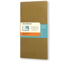 Блокнот Moleskine Chapter Slim Large зеленый