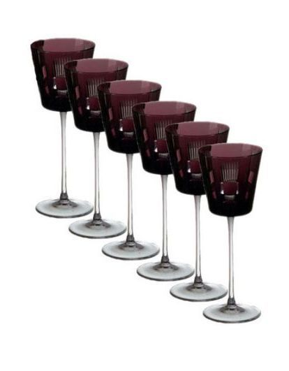 Фужер для вина 170мл Ajka Crystal Retro Amethyst