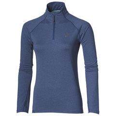 Женская рубашка для бега Asics LS 1/2 ZIP Jersey 132109 8130 темно-синяя