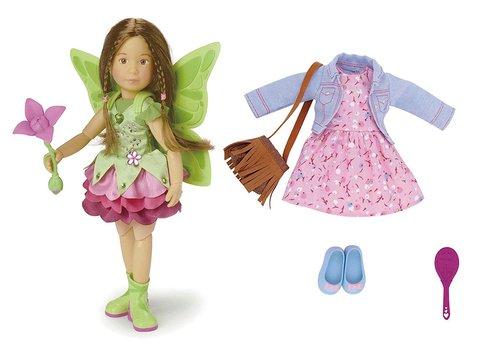 Kruselings. Кукла София Kruselings, 23 см с комплектом одежды и аксессуарами