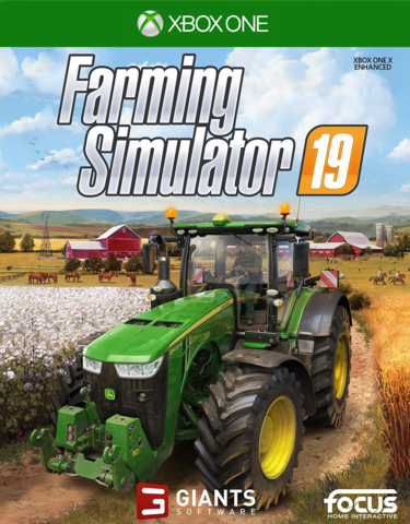 Xbox One Farming Simulator 19 (русская версия)