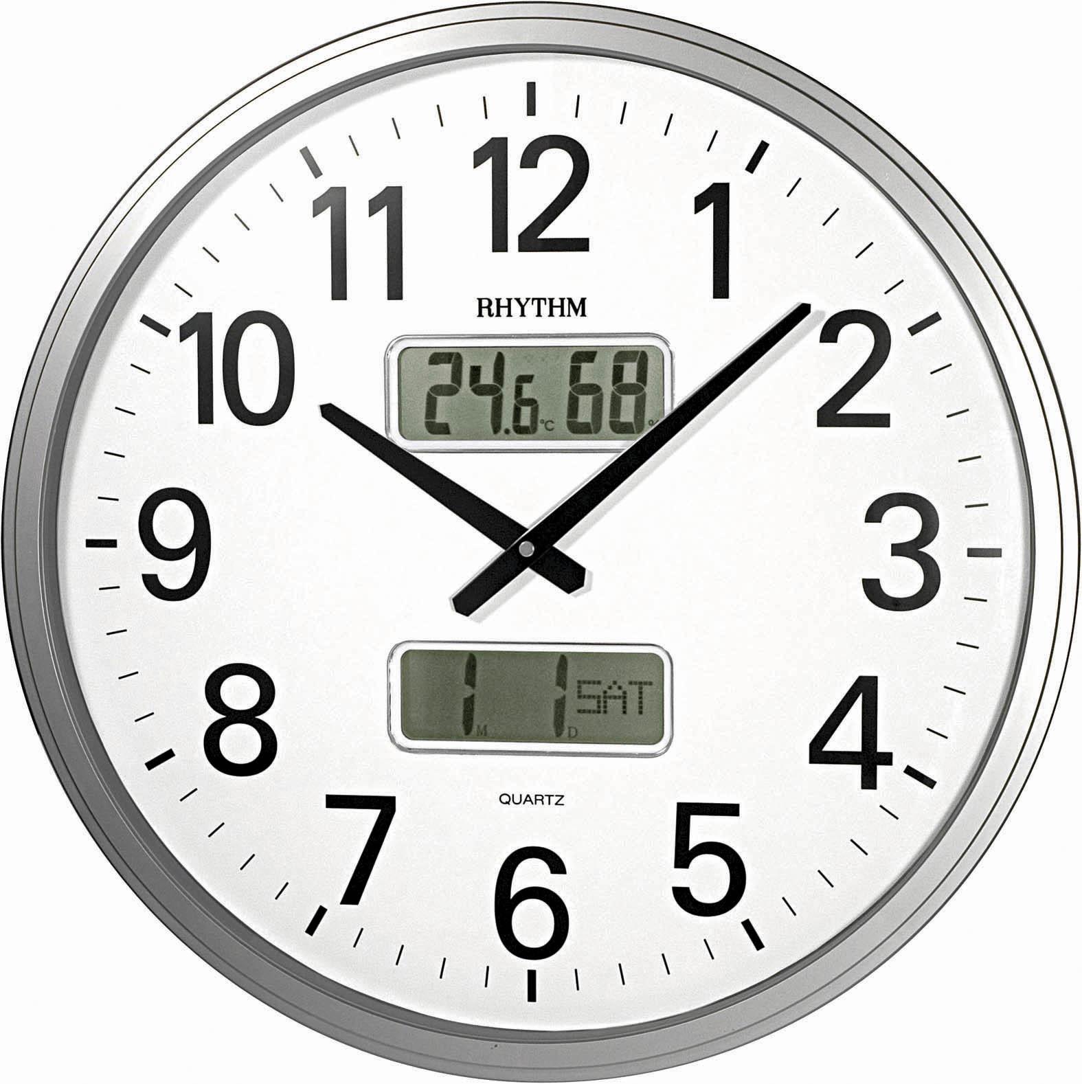 Настенные часы Rhythm CFG709NR19