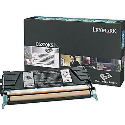 Картридж для принтеров Lexmark C522n/524 черный (black). Ресурс 4000 стр (C5220KS)