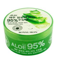 Многофункциональный гель с 95% содержанием экстракта алоэ вера Royal Skin Jeju Aloe Vera 95% Soothing Gel