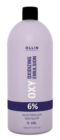 OLLIN performance oxy 6% 20vol. окисляющая эмульсия 1000мл/ oxidizing emulsion