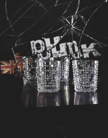 Набор из 4-х бокалов Whisky 348 мл артикул 99503. Серия Punk