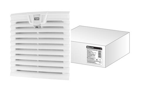 Вентилятор с фильтром универсальный ВФУ 170/139 м3/час 230В 45Вт IP54 TDM