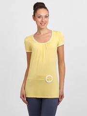 3306-4 блузка женская, желтая