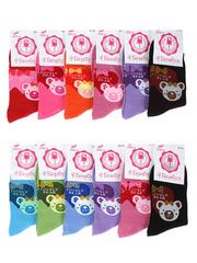 NO362-1 носки женские 36-41 (12шт), цветные