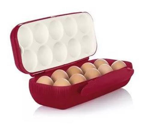 Контейнер для 10 яиц бордо
